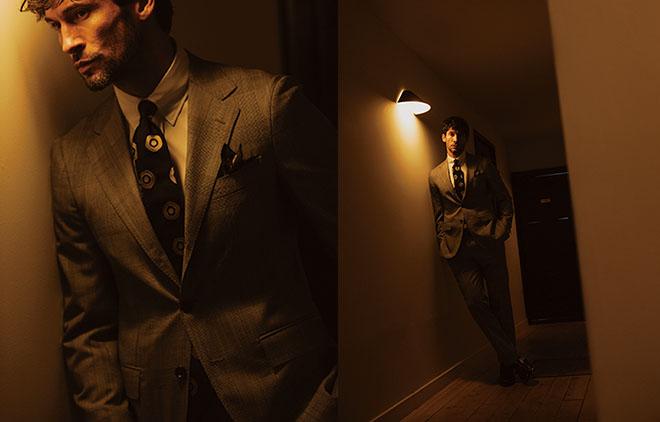 普段、クリエイティブな仕事が多い自分にとって、スーツはスイッチ。会社の代表として人前に出る時、スーツを着ると社長スイッチがオンになります! 小山薫堂