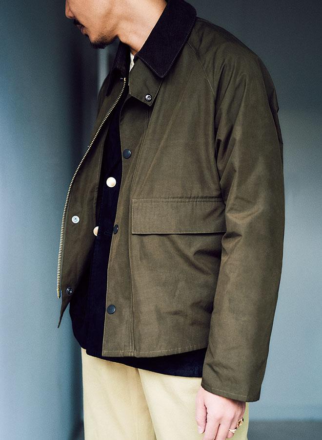 Barbourのフィッシングジャケット